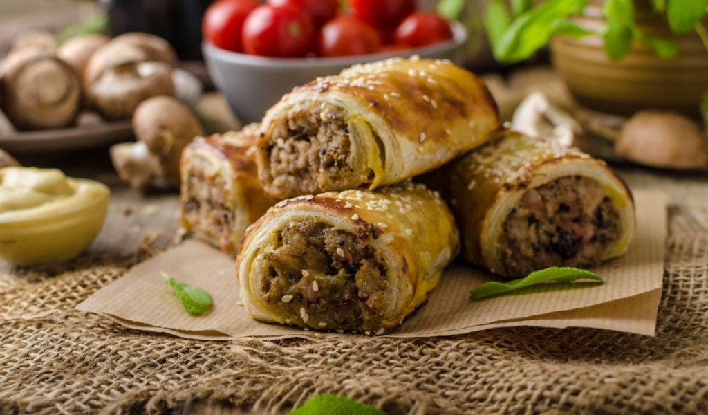 Must Chup Sausage Rolls