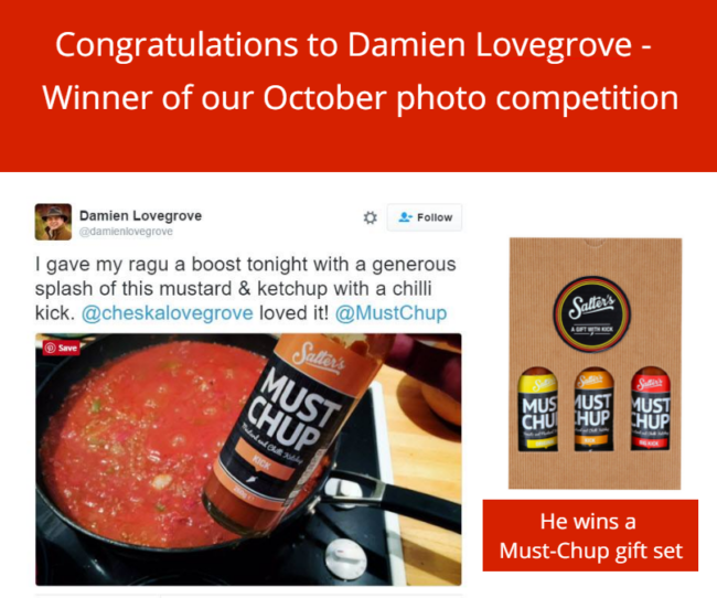 Must-Chup Photo competition winner!
