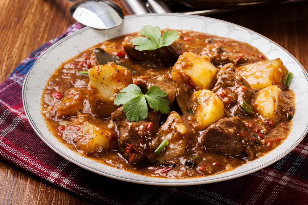 Slow cooked Beef Casserole with Must Chup 'Original'
