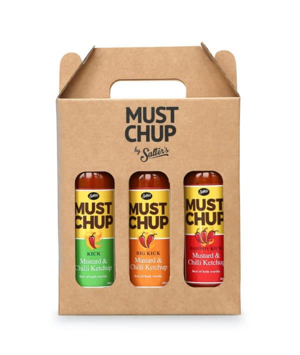 MustChup - Chilli & Mustard Sauce Gift Set