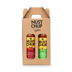 Mustard Ketchup Sauce 2 Bottle Gift Set