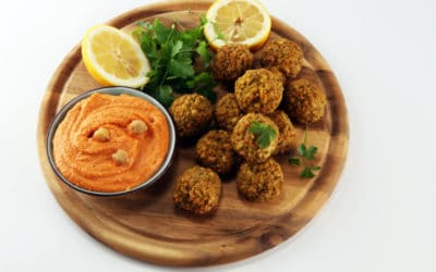 Falafel with Must Chup Dip